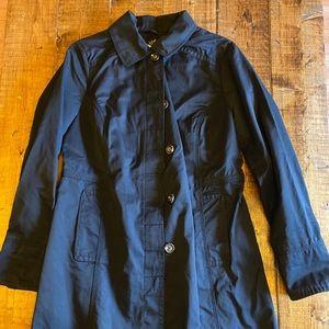 Eddie Bauer Women Cotton Trench Rain Coat